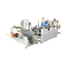Paper twisted handle pasting machine 1