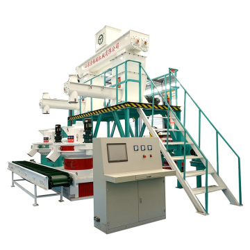 Wasted Wood Pallet Pellet Production Line