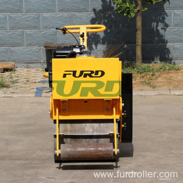 Small Single Drum Vibratory Road Roller 200kg Ground Roller Compactor(FYL-450)