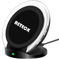 Qi standard Desktop Wireless Fast Charger Stand