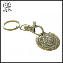 Promotional Trolley token coin metal keyrings