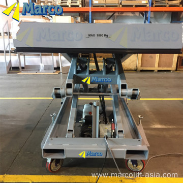 High lift scissor platform