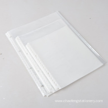 A4 paper zipper envelope bag Sheet Protectors