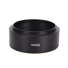 52mm Metal Camera Lens Hood For Canon Nikon 50mm F1.8 Tool Accessories High Quality Lens Hood