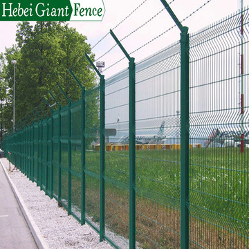 Hebei Giant Hot sale PVC coated airport fence