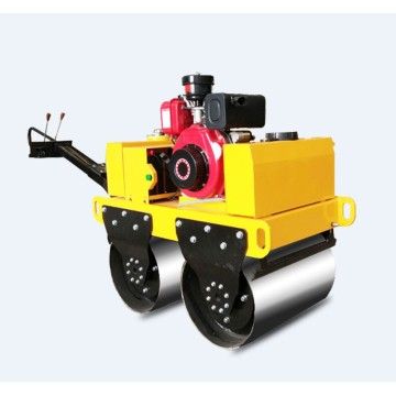 Double Drum Baby Hand Road Roller Compactor