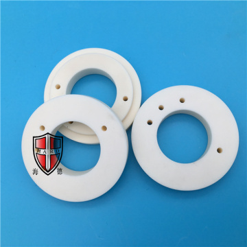insulating alumina ceramic customized machinery parts