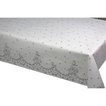 120 Inches Pvc Printed fitted table covers