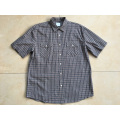 Short Sleeve Shirt For Brown Color