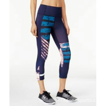Design Fitness Workout 3/4 Yoga Legging voor dames