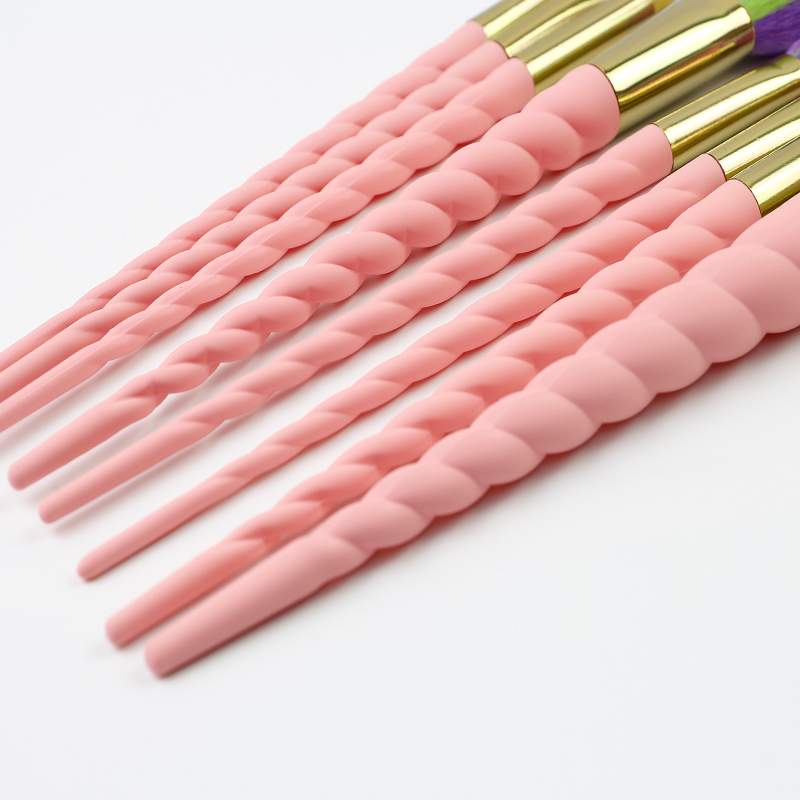 Unique design spiral makeup brush