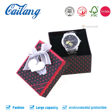 Luxury two-pieces Watch Jewelry Paper Box with Foam
