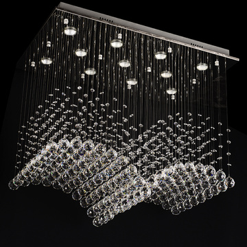 Modern Luxury Crystal hanging Chandelier pendant light