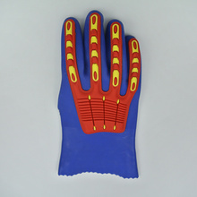 Anti-impact PVC Coated Work Glove