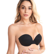 Sexy Strapless Backless Invisible Adhesive Silicone bra