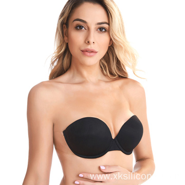 Push Up Wire Free Invisible Backless Adhesive bra