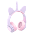 Newest Lighting cat ear Unicorn mixed headphone