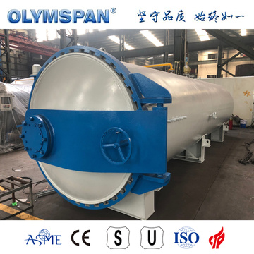 ASME standard composite material fabrication autoclave