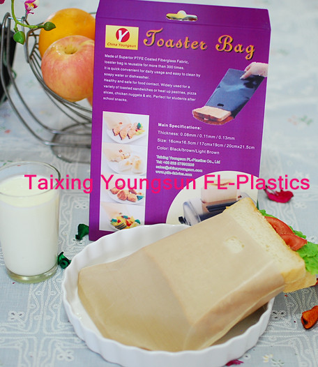 Resuable non-stick Ptfe toaster bag