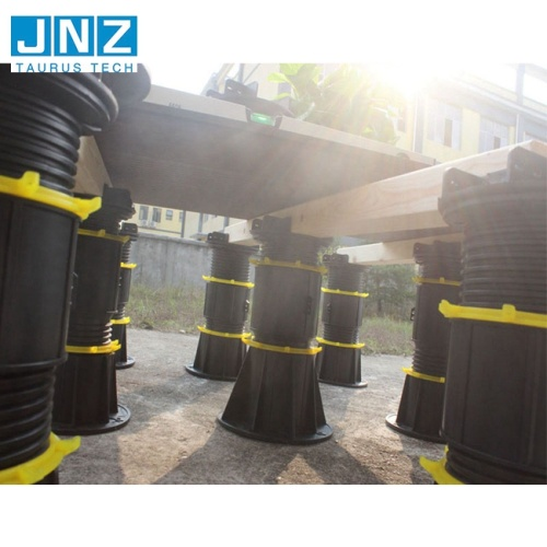 Adjustable plastic pedestals for outdoor stone like Amazon