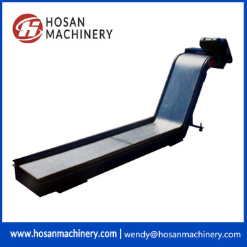 Strong magnetic chip conveyor no cnc milling machine