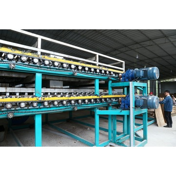 Veneer Dryer is indispensable plywood veneer machine