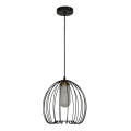 Metal pendant /chandelier painting black