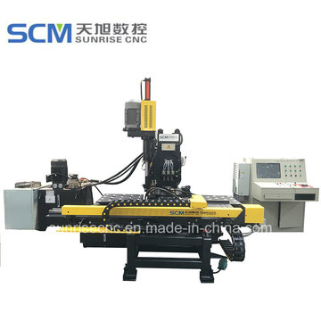 Punching Mark and Drilling Machine for Steel Plates
