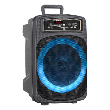 8inch DJ Trolley Speaker With Bluetooth