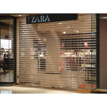 Commercial Storefront Crystal Shutter Door