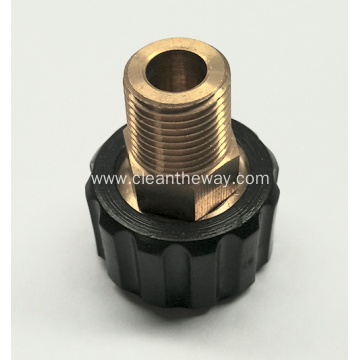 "Pressure Washer 3/8""MNPT Brass M22 Fitting"