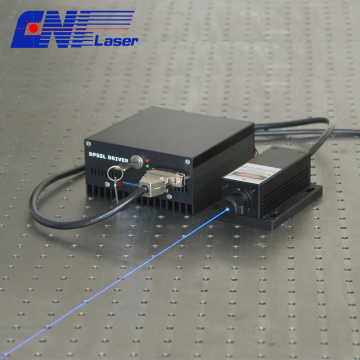 473nm bule solid laser for fluorescence excitation