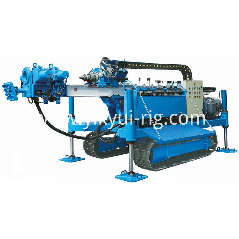 96kw Crawler Mounted Jet Grouting And Anchor Drilling Rig For Engineering Construction 2