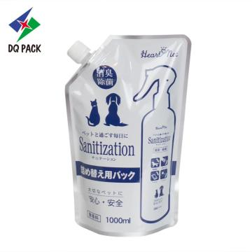 DQ PACK Custom Hair Shampoo Packaging Doypack For Articles Of Daily Use