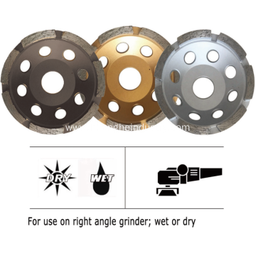 Diamond Grinding Cup Wheel (Single Row)