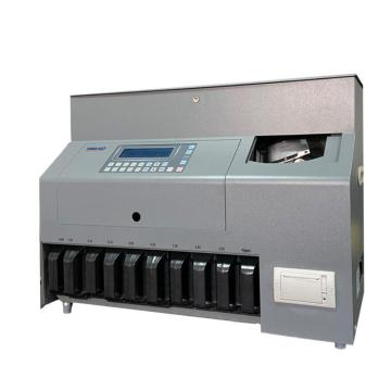 High Speed Coin Counter And Sorter For EURO