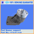 Excavator spare parts PC300-7 fan drive pully support 6743-61-3501