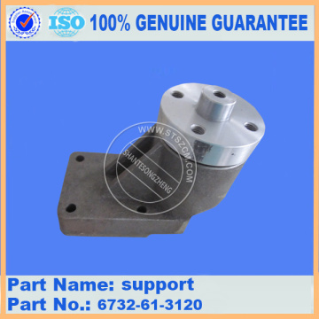 PC200-7 support 6732-61-3120 komatsu excavator parts