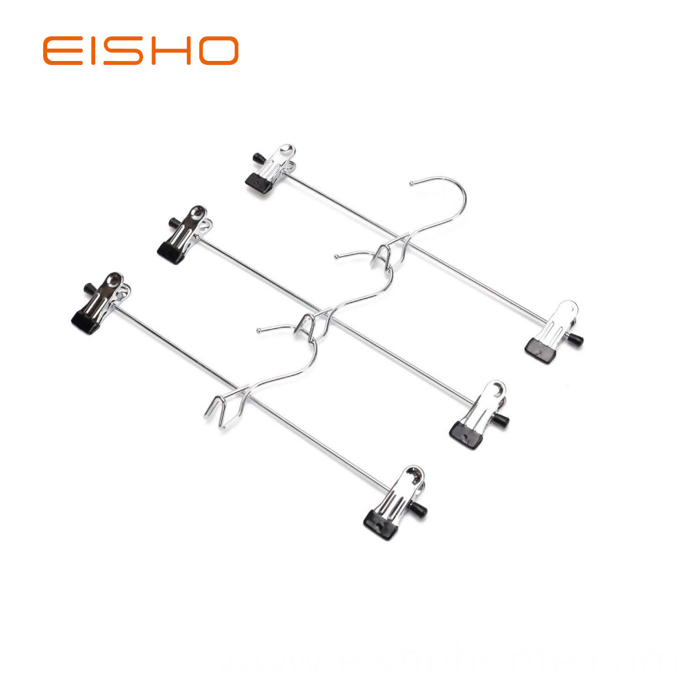 Factory Supplier Metal Clips Hanger For Pants