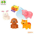 CQS623-4 CQS soft animals 4PCS with BB sound