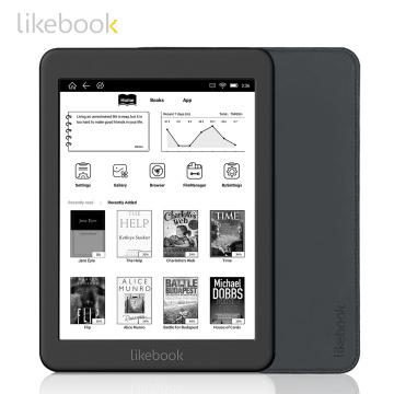 Likebook Mars 7.8 Inch Ebook Reader HD Ereader 300PPI 2G+16G Octa-Core with Carta Touchscreen 3.5mm Interface Support WiFi BT