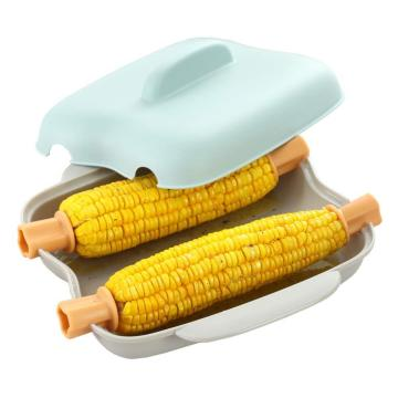Multi-Purpose Microwave Safe Corn Cooker Steamer