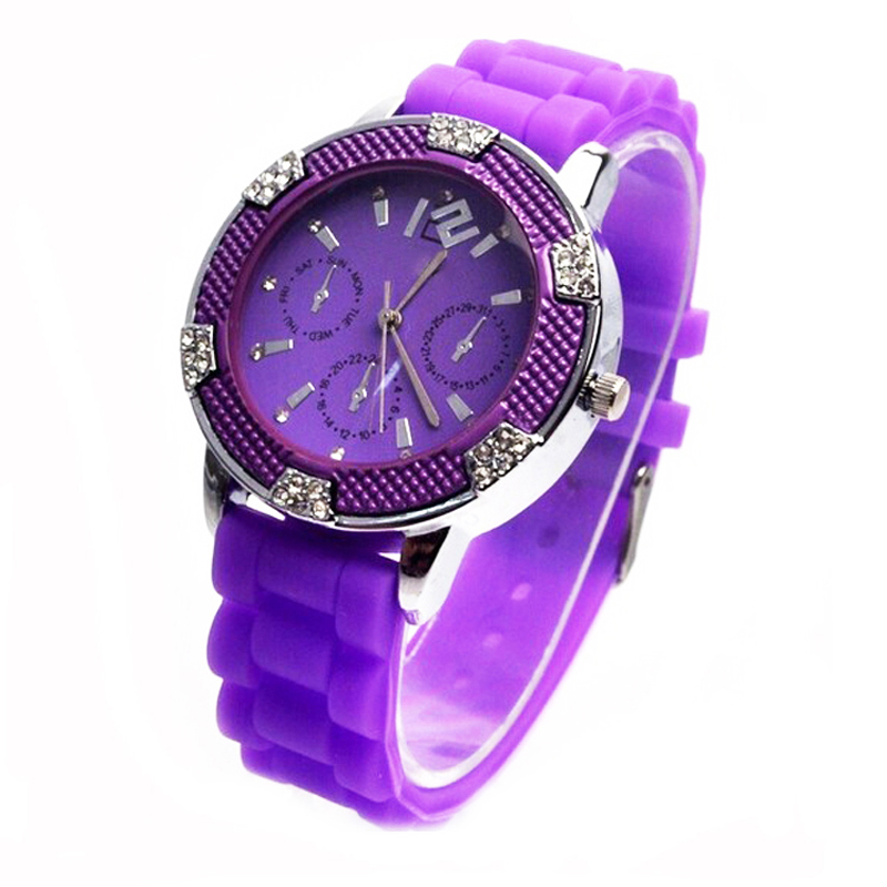 thin silicone watches