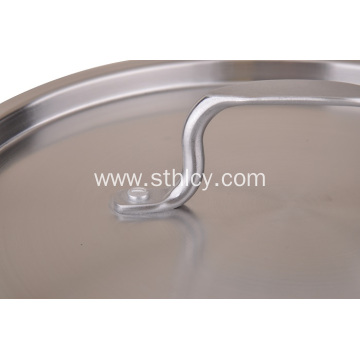 Stainless Steel Single Layer Soup Pot Cookware
