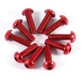 7075 red aluminum button head screw for FPV
