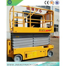 14m Full-automatic Scissor Lift For Rental Mechanical