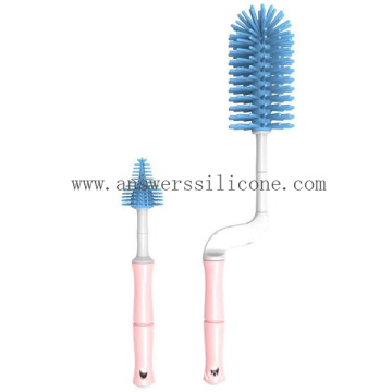 100% Food Grade Liquid Silicone Handle Brush