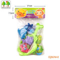 CQS624A-8 CQS soft toys 6PCS and fishing net