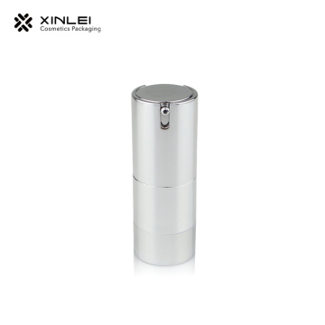 15 ML All Silver Airless Bottle
