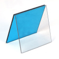 Colored solid polycarbonate sheet roofing sheet